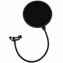 Filtro Pop Filter Dupla Camada Para Microfones Estudio Pro
