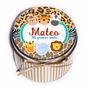 10 Latas Souvenirs Personalizadas Animales De La Selva