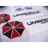 Adesivos Umbrella Corporation - Resident Evil