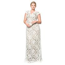 Vestido Fiesta Noche Alta Costura Tadashi Talla 12 $500 Dlls
