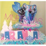 Chupeteros Personalizados Frozen.piñatas.fiestas Infantiles