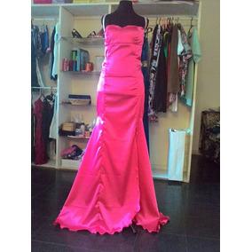 Vestido De Fiesta, Recepcion. Sirena Sin Espalda. Diseño