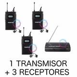 Sistema Monitoreo Inalámbrico Inear Tres Body Extra 3 Wpm200