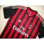 Liquidacion Camiseta Milan A.c Oficial 2013/2014 Original
