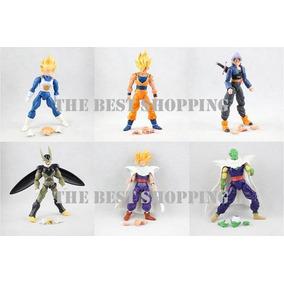 Set 6 Figuras Dragon Ball Z Articulada Goku Vegeta Gohan