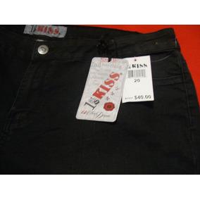 Jeans Mezclilla Mca. Kiss Sexy Original! T- 20 Remate!