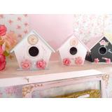 Mini Casitas Souvenirs Pájaros Shabby Chic (precio X 10 U)