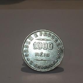 Moeda De Prata 1000 Réis 1907