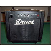 Excelente! Amplificador De Bajo Decoud De 20 Watts Permuto