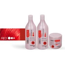 5 Kit Color Red Fyto Nature 3 Produtos (atacado)