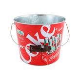 Frapera Coca Cola Metalica Conservadora Heladerita Balde