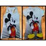 Franelas Y Franelillas Mickey Para Damas En Algodon Licrado