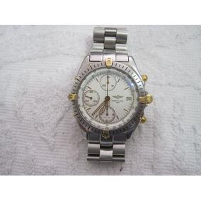 Breitling Chronomat, Automatic, Pulseiras De Aço E De Couro