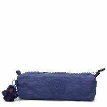 Estojo Kipling Azul Ink Blue Fabian Pen Case Cosmetic Bag