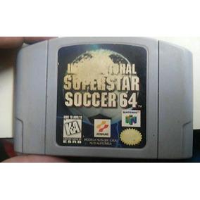 Fita International Superstar Soccer 64 N64 Nintendo Futebol