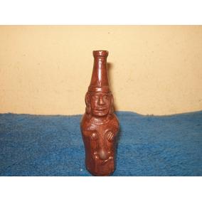 Pequeño Jarro De Ceramica O Barro Con Forma Indigena