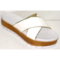 Sandalias Suecos Plataforma Zapatos Calzados Cris