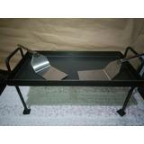 Plancha Bifera Con Patas,tabla Y Espatula De Acero Inox