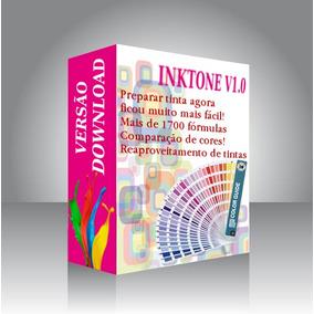 Software Preparação Tintas Gráfica (formulação Pantone)
