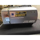 Filmadora Sony Handycam Dcr-sr65 Digital 40gb Nova