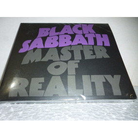 Cd Black Sabbath Master Of Reality 2012-2016 Br Digipck Lacr
