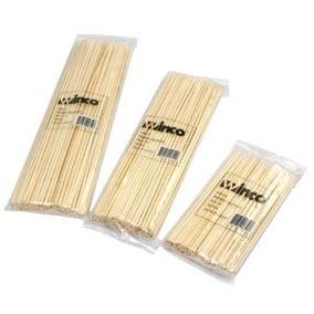 8 Long 3 Mm De Espesor De Bambú Pinchos (100 / Bolsa)