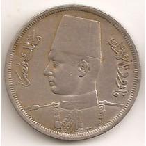 Egipto Reino, 10 Milliemes, 1938. 2º Guerra. Vf / Vf+