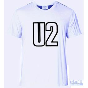 Camiseta Básica Ou Babylook C/ Banda De Rock U2