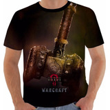 Camiseta Game Filme World Warcraft Wow Movie Horde Color