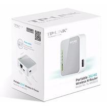 Mini Roteador 3g Wireless Portatil Tp-link Tl Mr3020 Wifi