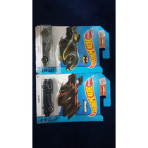 Hot Wheels Vehículo Batmobile Hw City 62 Y 63 /250