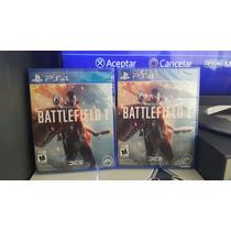 Battlefield 1 Ps4 - En Stock- Fisico- Nuevo- Playgamers