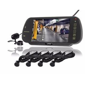 Espejo Retrovisor Pantalla 7 + Camara + Sensores De Reversa