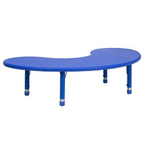 Muebles De Flash Ajustable En Altura Media Luna De Plástico
