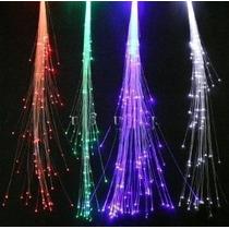 6-pack De Fibra Óptica Led Luces Cabello (14 Strands) Light