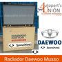 Radiador Daewoo Musso