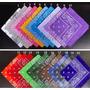 Pañoleta Bandana Estampados Y Colores Surtidos 43x43cm
