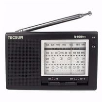 Rádio Tecsun Receptor De Tv Fm Am R-909tv - Barato