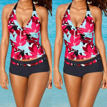 Bikini Sexy Dos Piezas Completo Traje De Baño De Moda