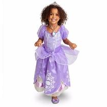 Vestido Disfraz Princesita Sofia T. 5/6 Directo Disney Usa