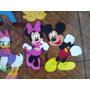 Mickey Minnie Disney Figuras De 35cm En Foami Para Decorar