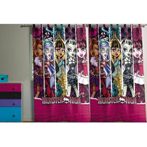 Cortina Para Varão Monster High 2,90 X 2,20 Lepper