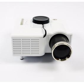 Mini Projetor Portátil Led 60 Pol Hdmi Usb Sd Vga Av Uc28