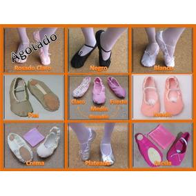 Zapatillas Media Punta Para Ballet + Obsequio (tallas 22-28)