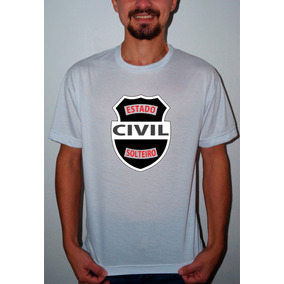 Camiseta Personalizada Solteiro