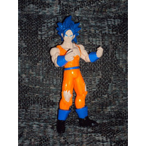 Figura Dragon Ball Z Gt Vegeta Goku Super Sayayin Dios Saya