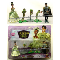 Kit Miniaturas Desenho A Princesa E O Sapo Disney