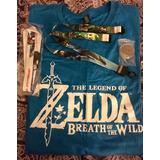 Camisa Legend Of Zelda Breath + Moneda + Litografía