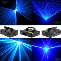 Laser Azul B-500 Bx5000 B5000 Dmx Com Sensor Som Strobo