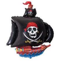 Globos Barco Pirata - Combo Para Cumple - Excelente Calidad